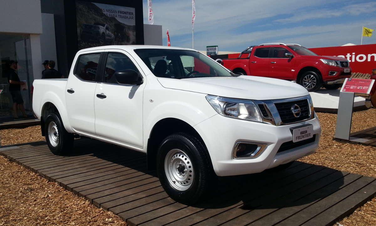 Así son las nuevas versiones de la Nissan NP300 Frontier ...